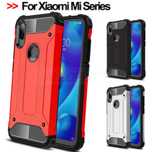360 Degree Luxury Armor Shockproof Case For Xiaomi Mi A2 Lite 9T Pro Case Full Cover Xiaomi Mi 9 T Pro Mi A2 Lite Rugged Case все цены