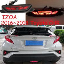 Led CHR IZOA rear bumper light,car accessories,2016~2019Y,C-HR IZOA rear fog lamp driving lamp brake light ,IZOA reverse light(China)