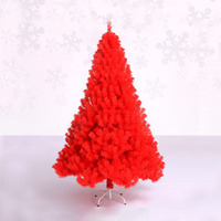 1 8m 180cm Luxury Encryption Christmas Tree PVC Pine Tree Metal Frame Xmas Christmas New Year