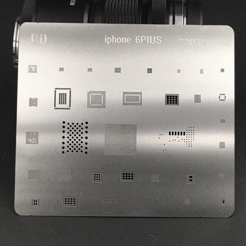 Repair-Kits for iPhone 7 Mobile Phone Rework Repair BGA Reballing Stencils