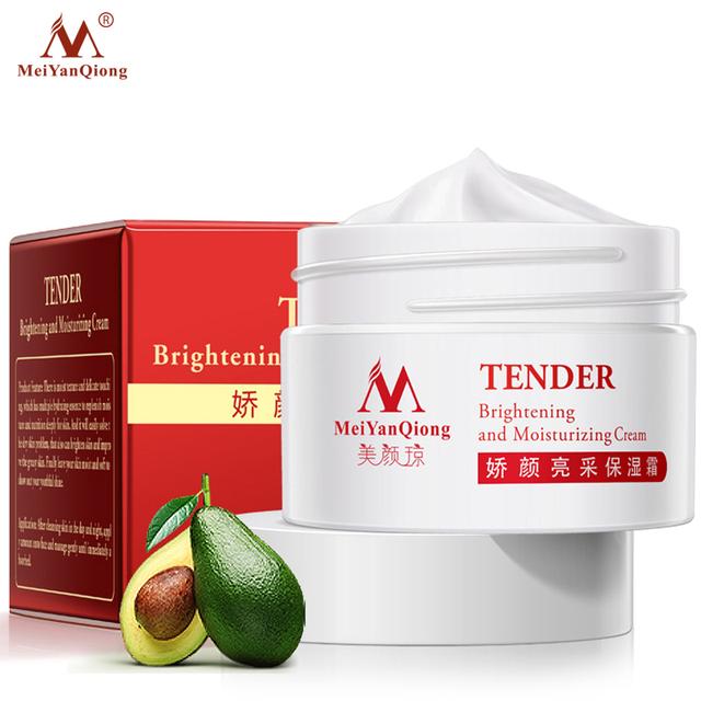 Mei Yan Qiong Crema Aclaradora y Reafirmante Suave Anti-envejecimiento anti arrugas ácido hialurónico