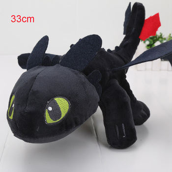 55cm 22cm 33cm 40cm Train Dragon Toothless Dragon Soft Stuffed Animal Plush Toys Juguetes de Peluches Bebe 26