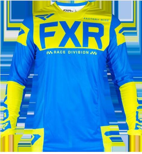 FXR BMX Off-Road Long Sleeve Moto GP Racing Jersey 2