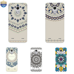 На Алиэкспресс купить чехол для смартфона for zte blade v7 lite phone case for zte axon 7 a2017 / 7 mini cover for zte blade a1 c880u shell tpu ethnic patterns design