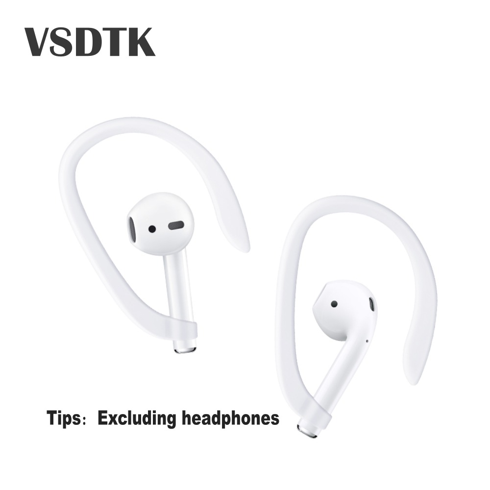 Earhooks Holder Secure Fit Hooks For I7s Tws I10tws I9s I13 I12 Wireless Earphone Accessories Silicone Sports Anti-lost Ear Hook Earphone Accessories Portable Audio & Video