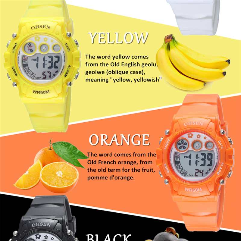New Ohsen Unisex Watch Fashion Casual Watches Relogio Masculino Students Sports For Men Women Water Resistant Alarm Wristwatches (43)