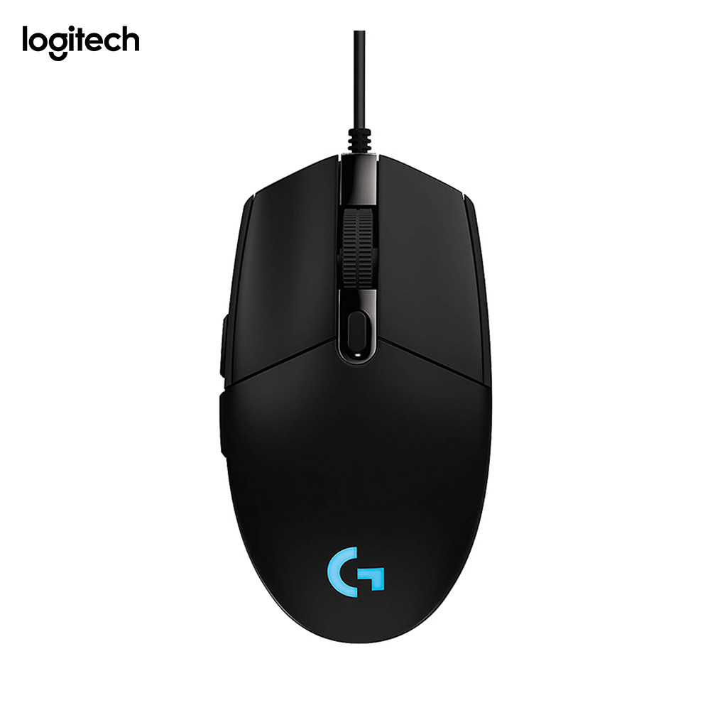 Logitech G203 Prodige Juego Raton optico par Gaming con Câble resolucion ajustable de 200 un 6000 dpi LED Personalizable con
