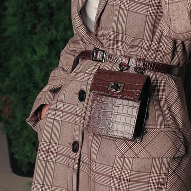 2018 новые сумки женские сумки Аллигатор поясная сумка Забавные сумки Дамская поясная сумка женская брендовая сумка на плечо кошелек 196