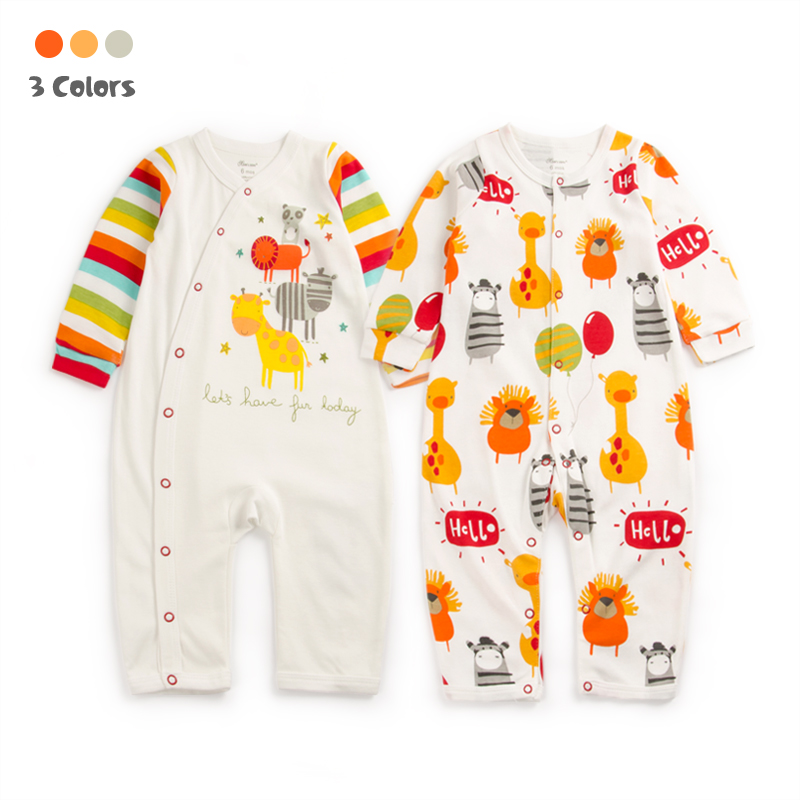 Baby Gift Giraffe Zoo Cotton Rompers Newborn Baby Boy Girl Romper Clothes Jumpsuit Baby Roupa Infantil Menino Kid Set newborn baby rompers baby clothing 100% cotton infant jumpsuit ropa bebe long sleeve girl boys rompers costumes baby romper