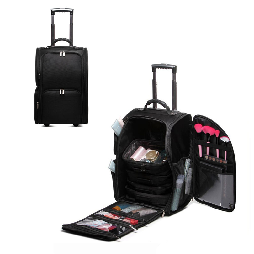US $155.52 |Soft Sided Trolley Case Makeup