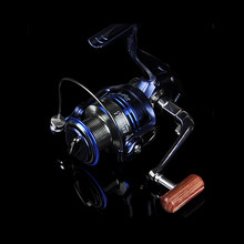Spinning Fishing Reel 5.5:1 10+1 Bearing Balls 1000-7000 Fishing Reel Left/Right Handle Metal Head Fishing Reel Free Shipping