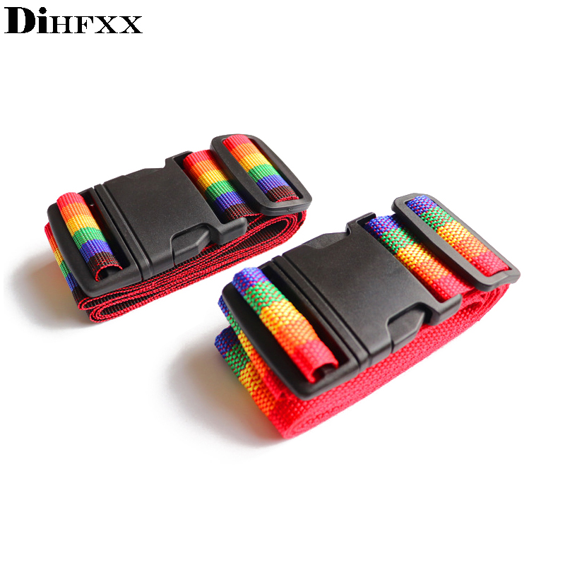 DIHFXX Adjustable Luggage Strap Travel Bag Parts Suitcase Fixed Belt Trolley Adjustable Security Accessories Supplies Products