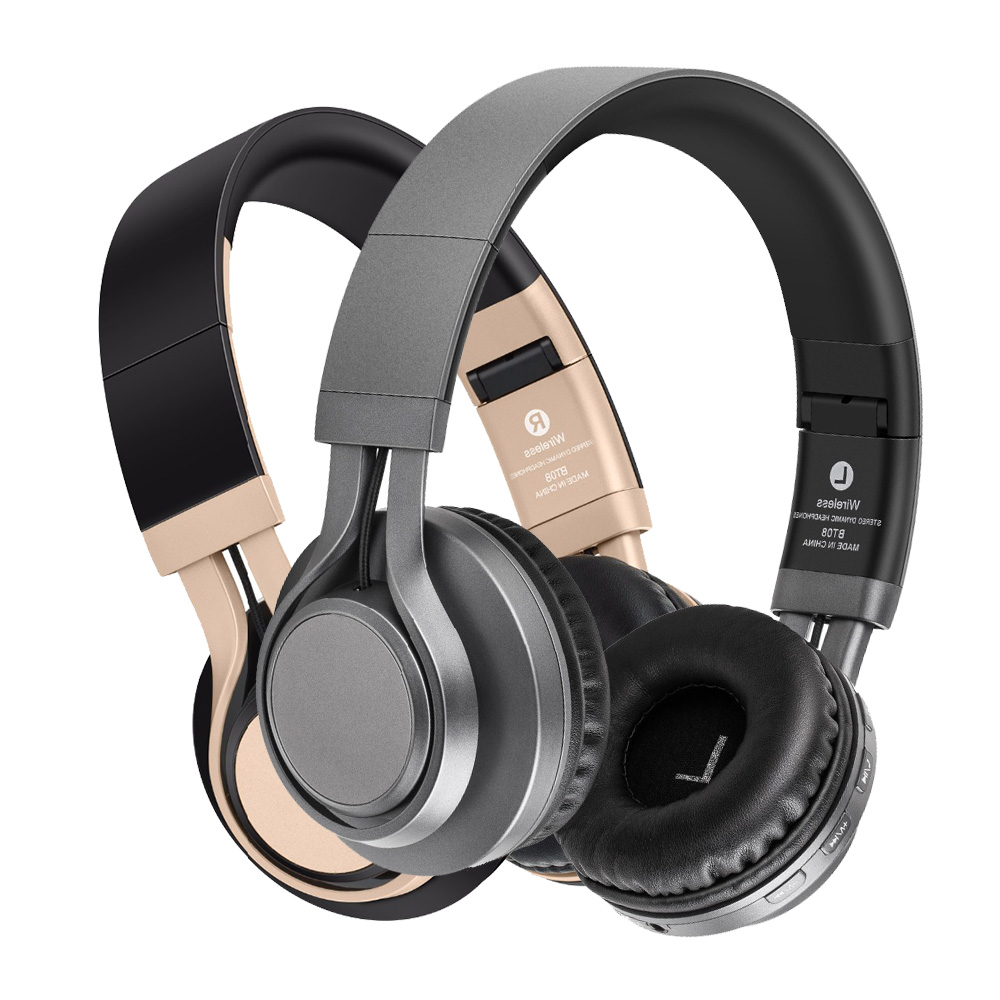Fashion BT 08 Bluetooth Headphone V4 0 Wireless Music Bass Stereo Over Ear Portable Video Game