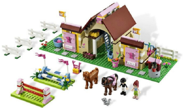 10163 Bela Building Blocks Series Friends Heartlake Stables Mia's Farm Horse Figures Girls Toys Compatible with Legoing 3189 489pcs heartlake city high school bela building blocks toy set friends educational toys compatible with lepine friends 41005