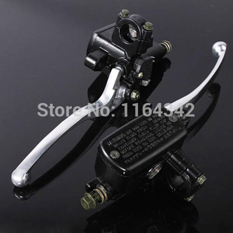 Universal Motorcycle 7/8 22mm Handlebar Master Brake Cylinder Clutch Lever For Harley Honda Suzuki Kawasaki Black
