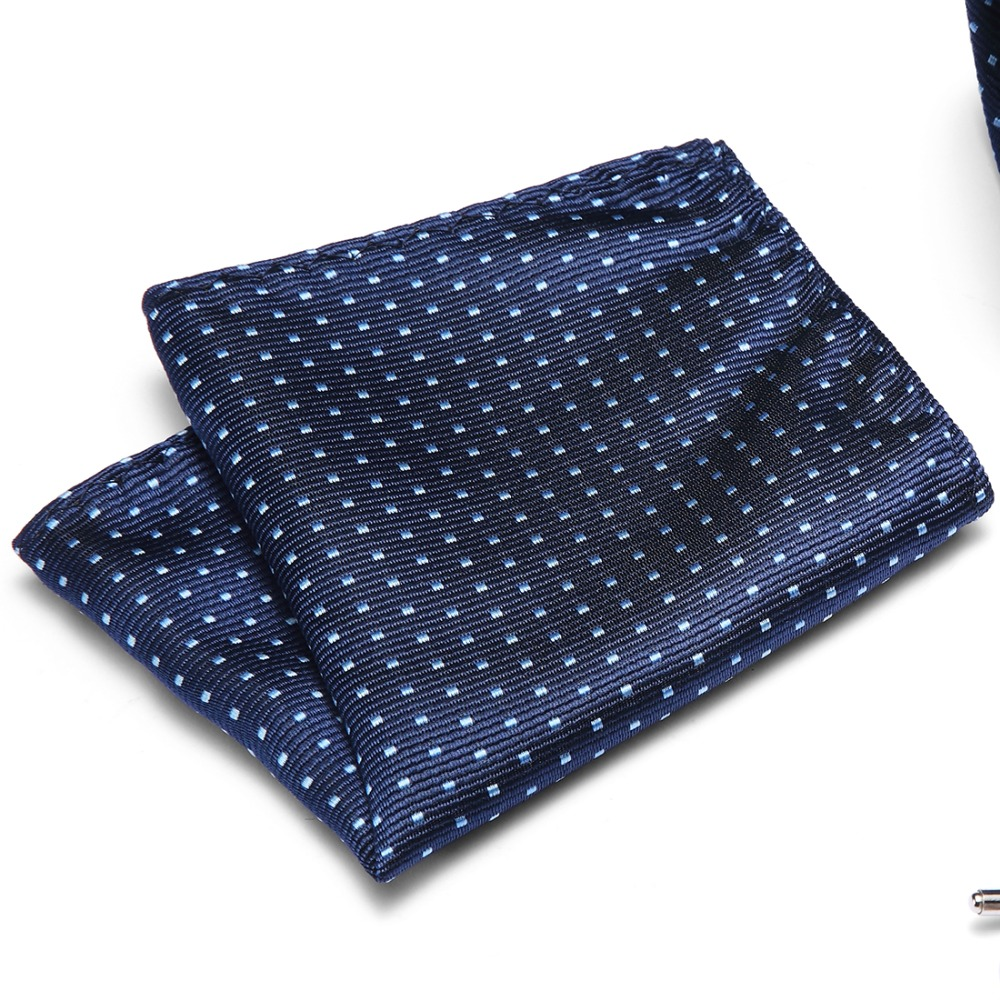 Plaid Polka Dot Pocket Squares For Suits Wedding Party Business Hot Sell 100% Silk Men Floral Paisley Handkerchiefs