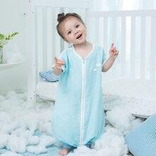 YDBB musim bunga musim panas tidur Beg empat Lapisan muslin tulen kapas kain kasa pakaian tidur tidur tidur bayi Saiz untuk 6 ~ 48Months bayi