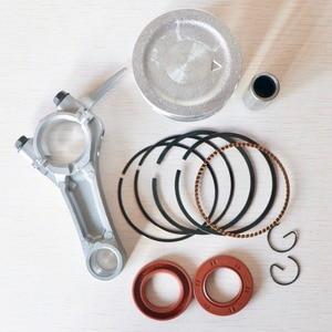 Image 5 - 68mm Zuigerveren Olie Seal drijfstang Replacemet Kit Voor Honda GX160 GX200 168F 2kw 2.5KW Generator Benzine Motor