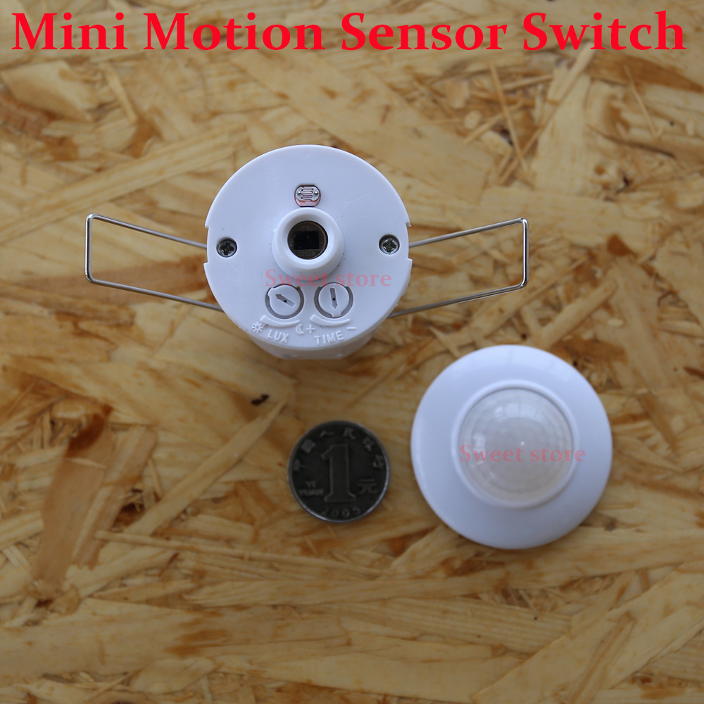 Mini ceiling motion sensor switchauto pir infrared sensor light mini ceiling motion sensor switchauto pir infrared sensor light switchinductive proximity sensor switch ac110v 220v in switches from home improvement on aloadofball Choice Image