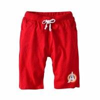 2 12Y Summer Soild Cotton Loose Casual Four Sub Pants Shorts Kids Boys KP 1816