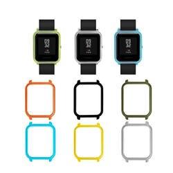 Silm PC чехол для Amazfit Bip часы чехол рамка крышка оболочки протектор для Xiaomi Huami Amazfit Bip бит Молодежные часы аксессуары