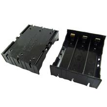 Carprie New 1p DIY Black Storage Box Holder Case For 3x 18650 3 7V Rechargeable Batteries Batteries Batteries Battery Integrator cheap Battery Accessories