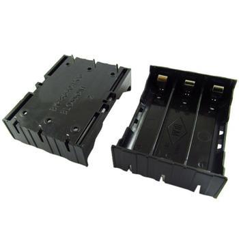 Carprie nowy 1 p DIY czarny przechowywania pudełko dla 3 #215 18650 3 7 V akumulator baterie baterie baterie Integrator tanie i dobre opinie Bateria Akcesoria