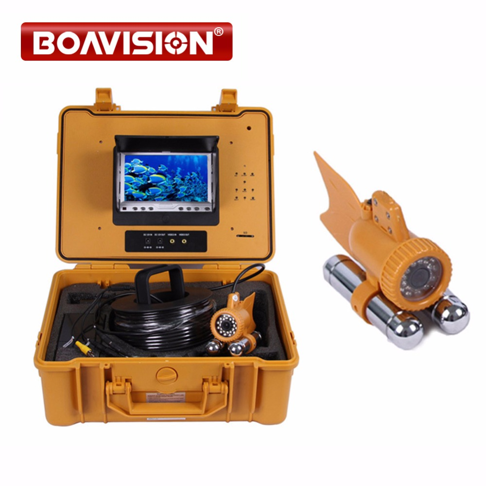 7 Digital LCD Monitor with dvr 24Pcs White Leds 1/3 SONY CCD 650TVL Video CCTV Underwater Fishing Camera 50M Cable Fish Finder 20m cable underwater fishing camera fish finder with 1 3 sony ccd effio e 12pcs white leds camera night vision rotate 360 degree