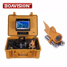 Buy 7″ Digital LCD Monitor with dvr 24Pcs White Leds 1/3 SONY CCD 650TVL Video CCTV Underwater Fishing Camera 50M Cable Fish Finder