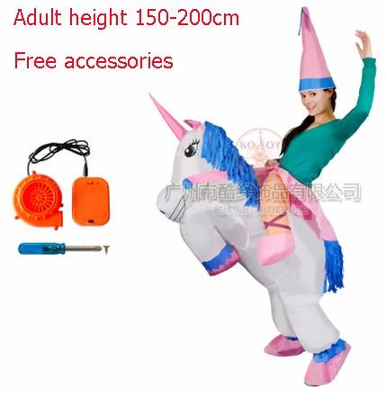 DB23985 inflatable dinosaur costume-15