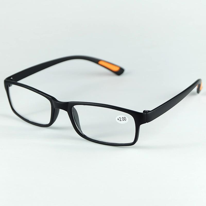 Diseño antideslizante flexible y ligero plástico Gafas para leer con  potencia de la lente 470dd65f45