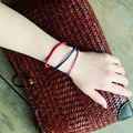 Chinese jewelry Thailand Multicolor wax rope braided bracelets  E-162