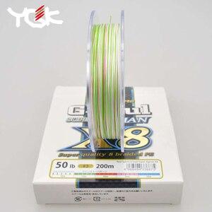 Image 4 - اليابان المستوردة YGK G SOUL X8 JIGMAN PE 8 جديلة الصيد 200 300 متر خط البولي ايثيلين جودة البضائع رخصة