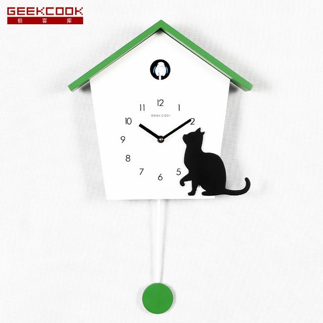 Cuckoo Clock The Whole Point Timekeeping Wall Clock Cartoon For children Wooden Wall Quartz Desktop Clock Fashion Art Home Decor