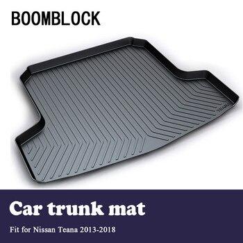 BOOMBLOCK Car Special Trunk Floor Foot Mat Pad Non-slip Dustproof Accessories For Nissan Teana L33 2018 2017 2016 2015-2013