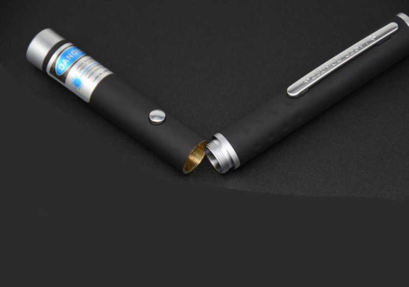 לייזר Sight מצביע 5MW גבוהה כוח ירוק כחול אדום דוט לייזר אור עט עוצמה לייזר מטר 405Nm 530Nm 650Nm ירוק לייזר