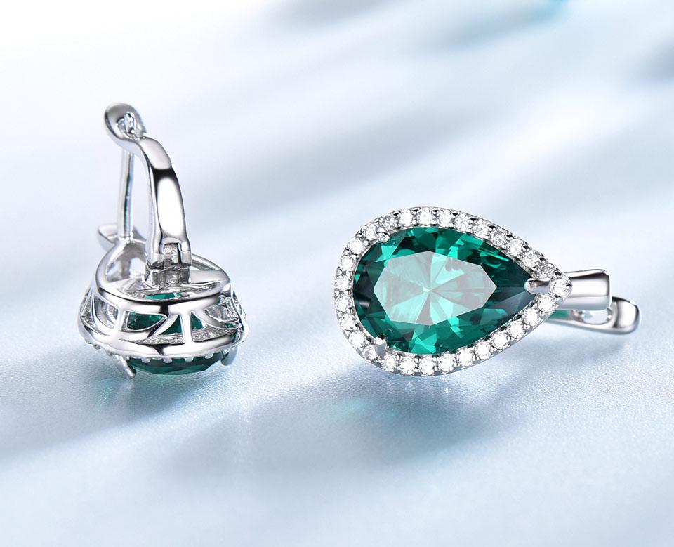 -Emerald-925-sterling-silver-clip-earrings-for-women-EUJ087E-1-PC_05