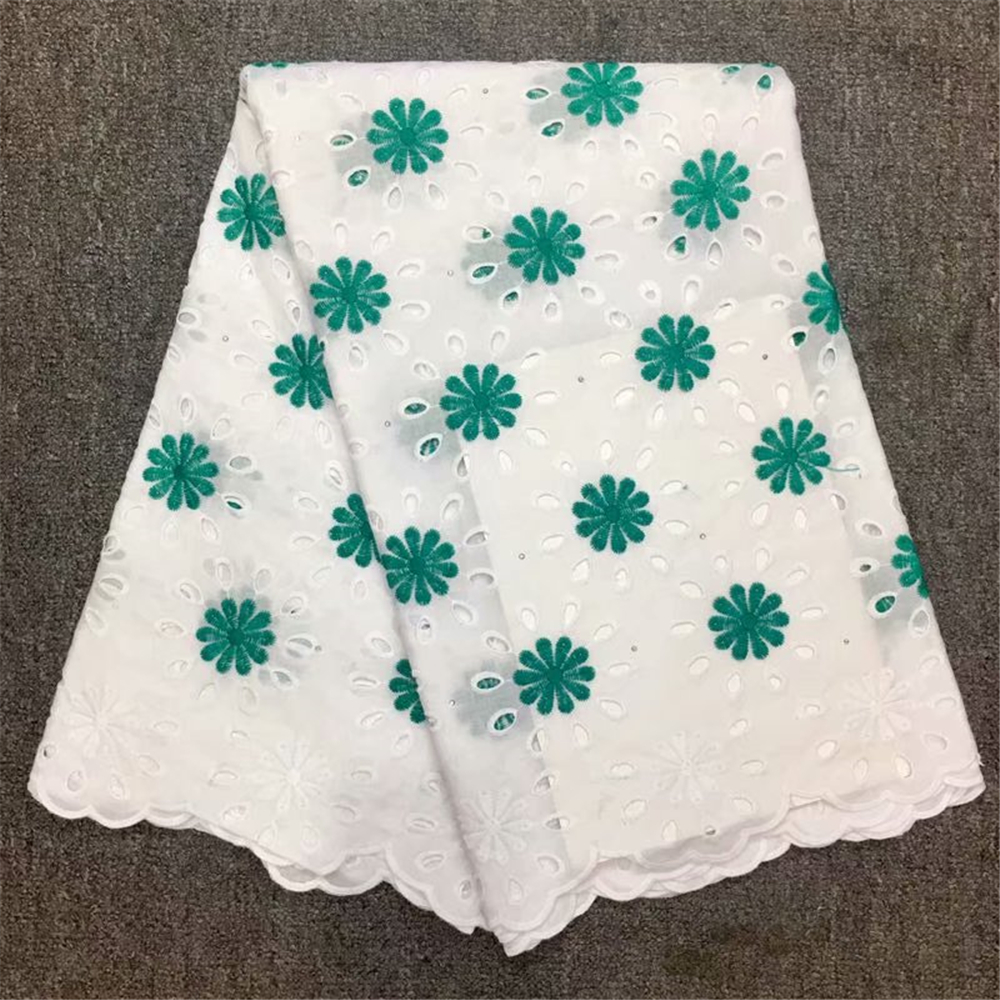 superb Swiss voile lace Smooth Soft eyelet embroidery African lace fabric Nigerian cotton garment cloth high quality 5 yardssuperb Swiss voile lace Smooth Soft eyelet embroidery African lace fabric Nigerian cotton garment cloth high quality 5 yards