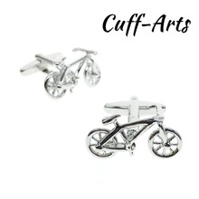 Cuffarts Novelty Bicycle Cufflinks 2018 High Quality Gift For Men Shirt Spinki Do Koszuli Bike C10123