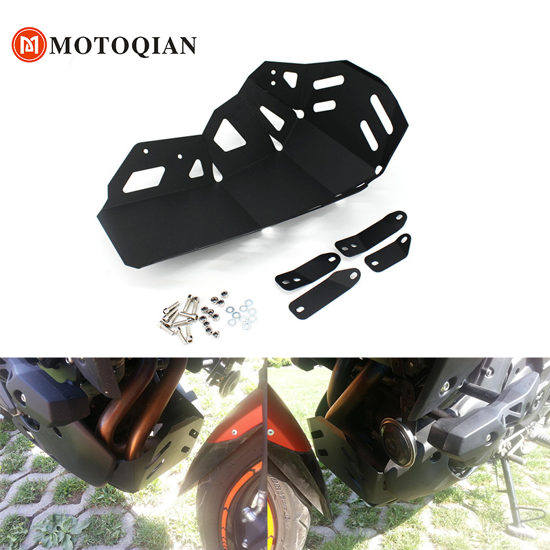 Motorcycle Exhaust Engine Guard Crash Bottom Chassis Protector For Kawasaki Versys 650 KLE650 2015 2017 Accessories