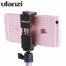 Ulanzi IRON MAN Universal Tripod Mount Stand Clip Adapter for iPhone Samsung Xiaomi Meizu Mobile smartphones clamp for Tripod