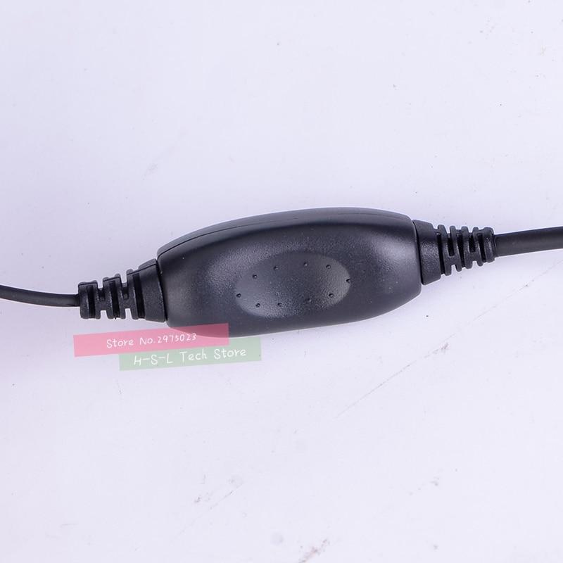 טלוויזיות 25 29 עבור אוזניות אוזניות Baofeng Waterproof מכשיר הקשר UV-XR UV-5S UV5R-WP GT-3WP T-57 R760 GT-3TP מקורי אוזניות אפרכסת (4)