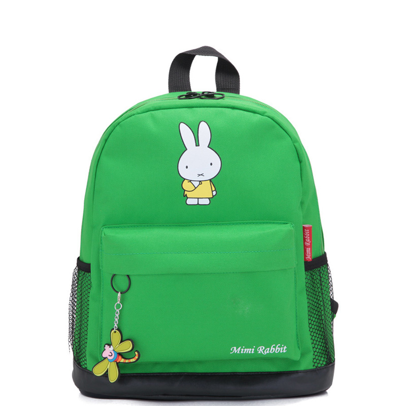 New 2017 Child Backpack Boy Fashion Rabbit Pattern Baby - School Bags For College Boys