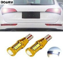 BOAOSI 2x Canbus Нет Ошибка резервная копия свет лампы T15 светодио дный 4014 чип высокое Мощность для Audi A1 A3 A4L A6L A5 A7 Q3 Q5 Q7 S5 TT