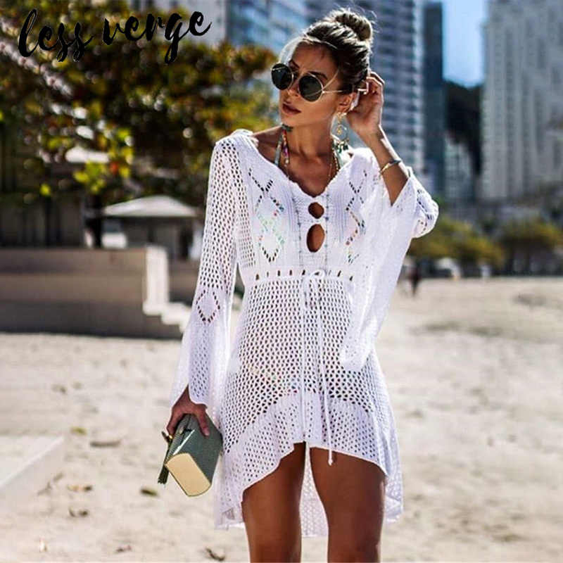 be11831ee7f0f Detail Feedback Questions about lessverge Knitted white cover up ...