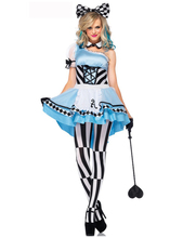 Hot Sale French maid <font><b>Apparel</b></font> Party Costume women fancy dress women Hollyween cosplay Costume One shoulder waiter