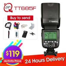 Godox Speedlite TT685F for Fujifilm Camera Flash TTL HSS GN60 High Speed 1/8000S 2.4G for Fuji X-Pro2/1 X-T20 X-T2 X-T1