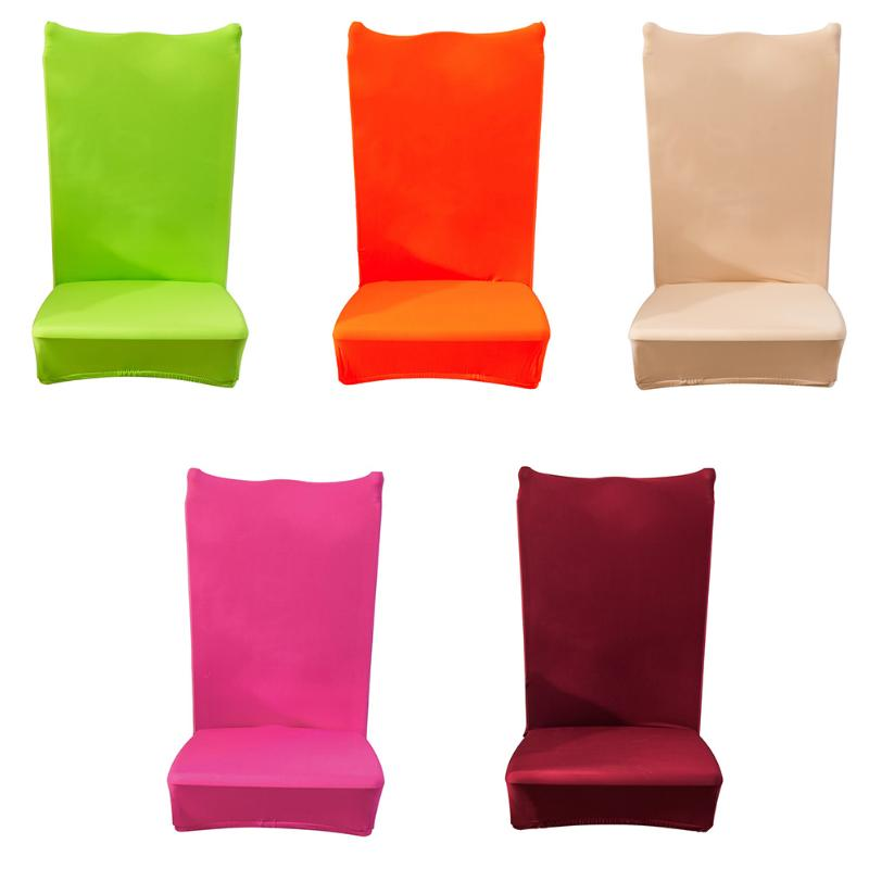 Removable Dining Chair Cover Modern Minimalist Chair Cover Slipcovers For Wedding Party Restaurant Hotel Chair Covers