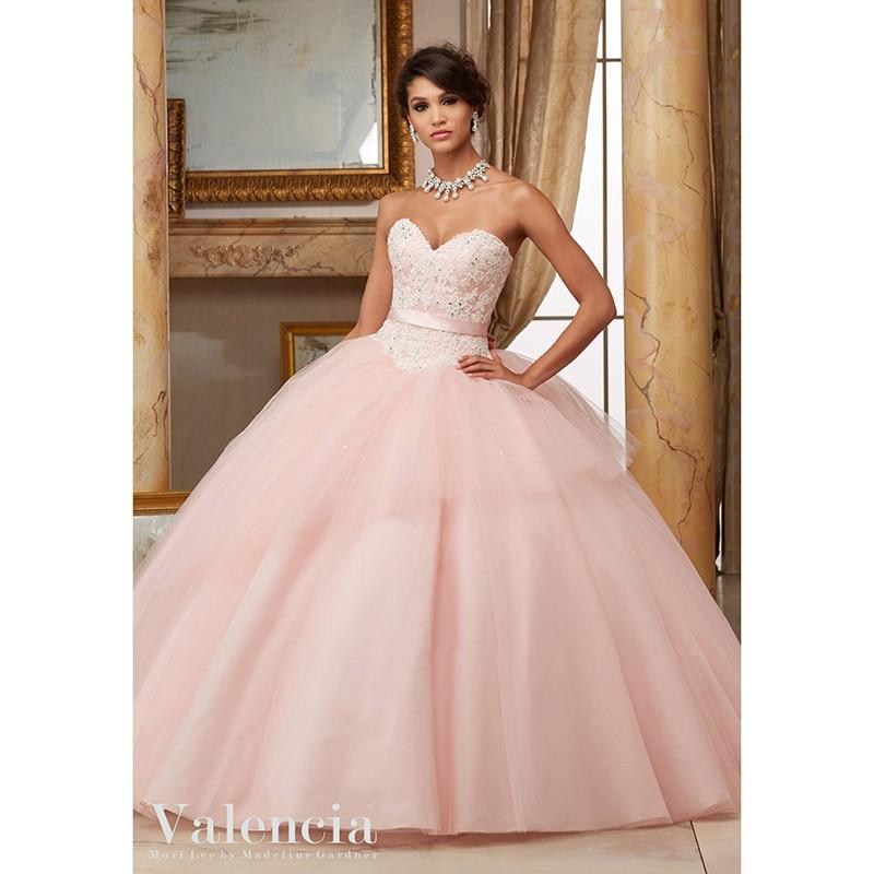 Popular 2016 Blush Quinceanera Dresses-Buy Cheap 2016 Blush ...