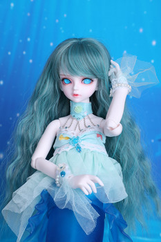 Spot Bjd doll sd doll 1/4 male and female optional Mermaid Serin & Rico doll...